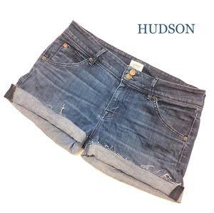 HUDSON CUT-OFF JEANS SHORTS